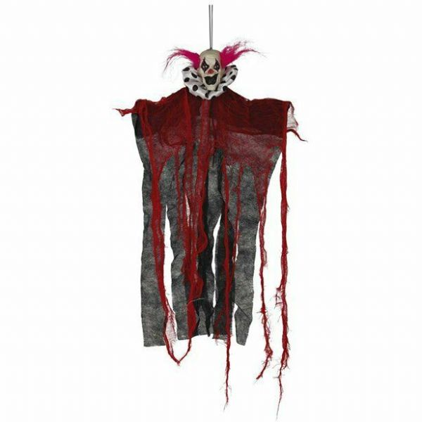 Halloween Scary hanging clown 60cm